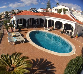 Photo for Villa with Stunning Sea View. Close to beaches & restaurants. Pool Heating