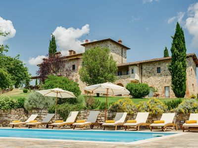 Photo for VILLA Nestled in the Heart of Tuscany with private Vineyards, pool+staff