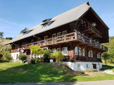 Photo for Exclusive Schwarzwaldhof with sauna and hot tub