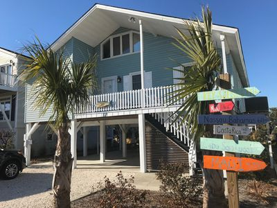 Photo for Newly Renovated Canal Home - Beautiful Cottage close to Beach - Bikes, Kayaks