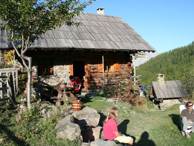Photo for True alpine chalet renovated in the mountain tradition - Altitude 1750m