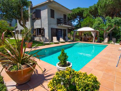 Photo for Country house in Vidreres with Parking, Internet, Washing machine, Pool (1008881)