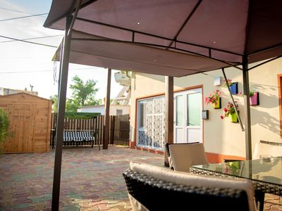 Photo for Homerez last minute deal - Nice studio near the beach and garden