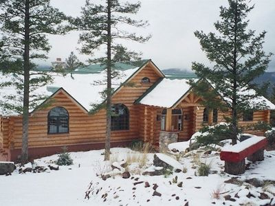 Photo for Beautiful Luxury Log Home ~ Perfect For Your Family Vacation