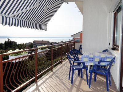 Photo for Three bedroom apartment with terrace and sea view Selce, Crikvenica (A-5477-a)