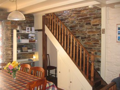Dining Area - Stairs Leading to First Floor