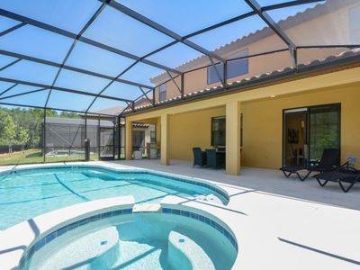Photo for Enjoy Orlando With Us - Veranda Palms Resort - Feature Packed Cozy 6 Beds 4 Baths Villa - 6 Miles To Disney