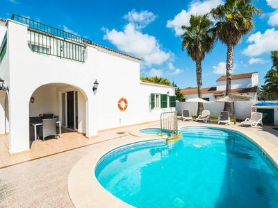 Photo for Villa Ingrid: Large Private Pool, Walk to Beach, A/C, WiFi, Car Not Required