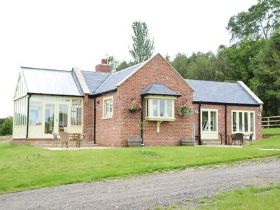 Photo for Secluded luxury family holiday cottage in County Durham countryside.