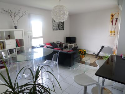 Photo for F3 type of new apartment with beautiful views and large terrace.