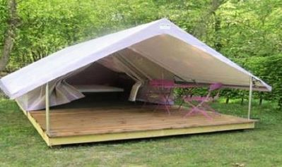 Photo for Camping Saint Paul *** - Tent Equipped Canada 2 People