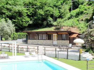 Photo for Vacation home Casetta La Fonte  in Fiano (LU), Pisa - Lucca surroundings - 5 persons, 2 bedrooms