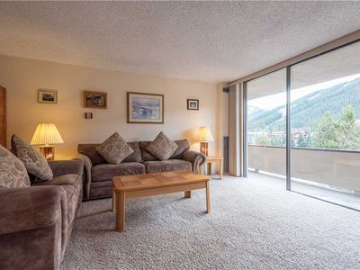 Photo for Stunning mountain and village views, large living area, free wifi, & parking.