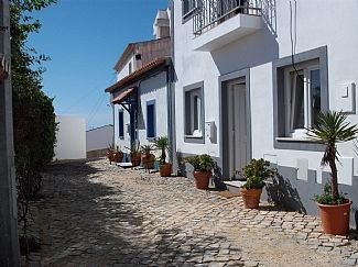 Situated on quiet cobbled street