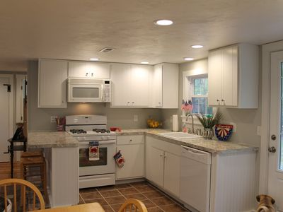 Photo for 1/2 mile to beach, Newly Renovated 3BR Cape house
