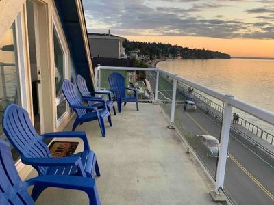 Photo for Amazing Sunsets at 3BR Home over the Puget Sound