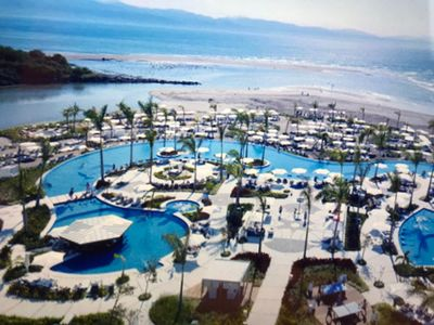 Photo for GRAND LUXXE Nuevo Vallarta 3BR/4BA Residence over 5000 sq ft with Ocean views.