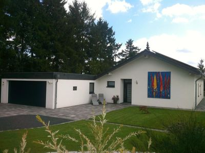 Photo for Luxury 5-star holiday home overlooking Rursee and the Eifel National Park