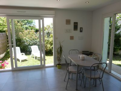 Photo for Nice T2- 3 * - 45m2 - with garden 5 mins from Uriage (ideal for spa guests). Near Grenoble