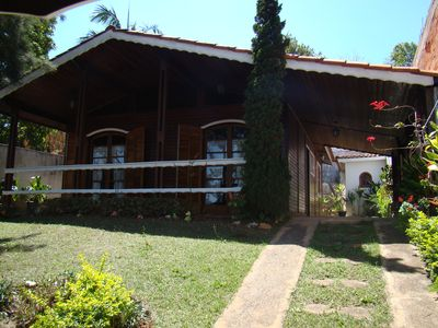 Photo for Chalet in Serra Negra, with water park for the season with your family.