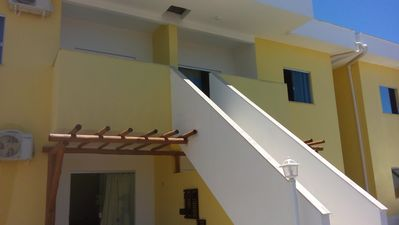Photo for Apartment in condominium on the second block of Coroa Vermelha Beach