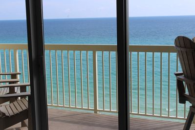 Your view of the Emerald Coast! Beautiful!
