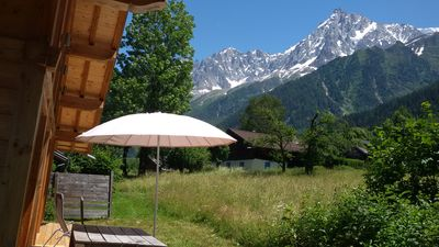 Photo for Chalet at the foot of Mont Blanc and Chamonix ski in Les Houches