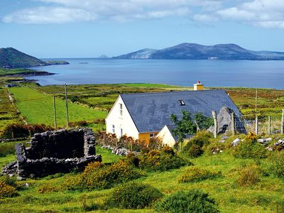 Photo for Dormer bungalow facing west in quiet location on the slopes of Cahernageeha Mountain with magn…