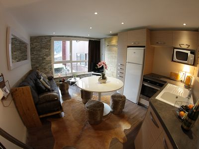 Photo for Luxury apartment in the heart of Courchevel