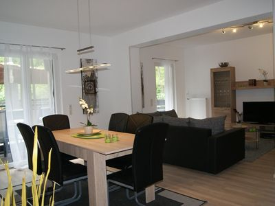 Photo for BachBlick3 - apartment with living / dining room and large balcony in an idyllic location