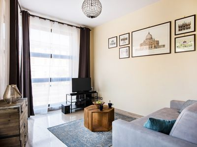 Photo for Bright New Apartment with a view & centrally located