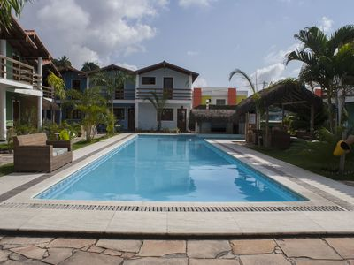 Photo for OF 1 BEDROOM APT ON THE BEACH, WIFI, POOL, 500 M FROM THE BEACH Taperapuan
