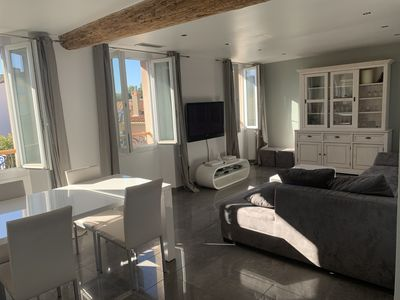 Photo for 2 bedroom apartment in Saint-Tropez, terrace
