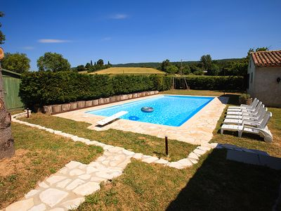 Photo for Large Converted Water Mill With Private Swimming Pool - Idylic Location