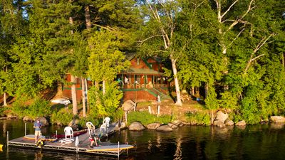 Photo for Historic Private Waterfront Camp Located In Adirondack Park, Tupper Lake