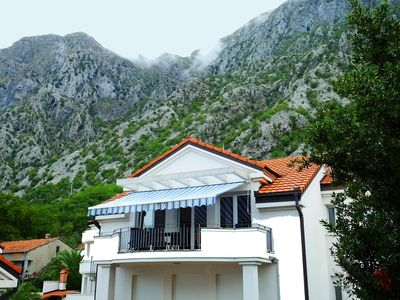 Photo for Great Penthouse  in Ljuta, Kotor, Overlooking the Bay