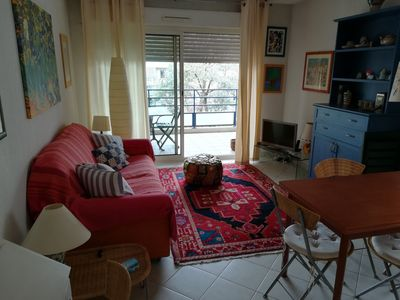 Photo for APARTMENT WITH TERRACE - NEAR CANNES CITY CENTER