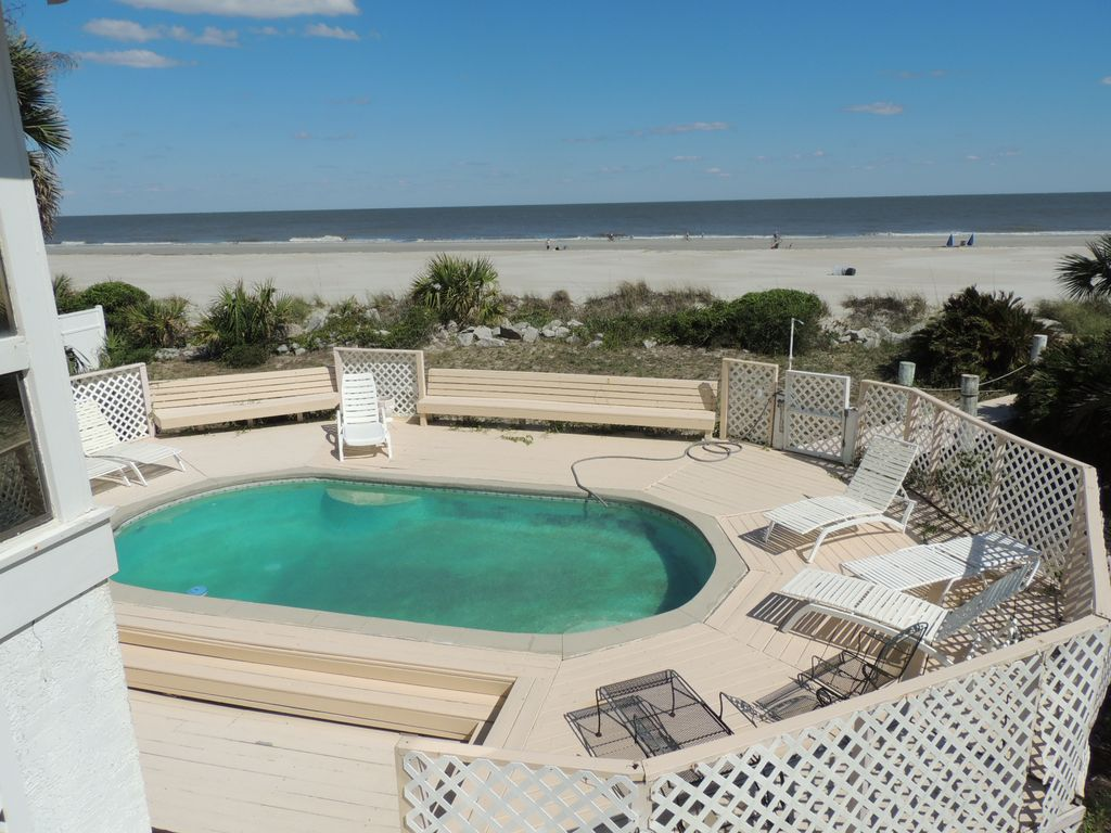 Mignon t oceanfront beach house avec piscine priv e for Alarme piscine home beach