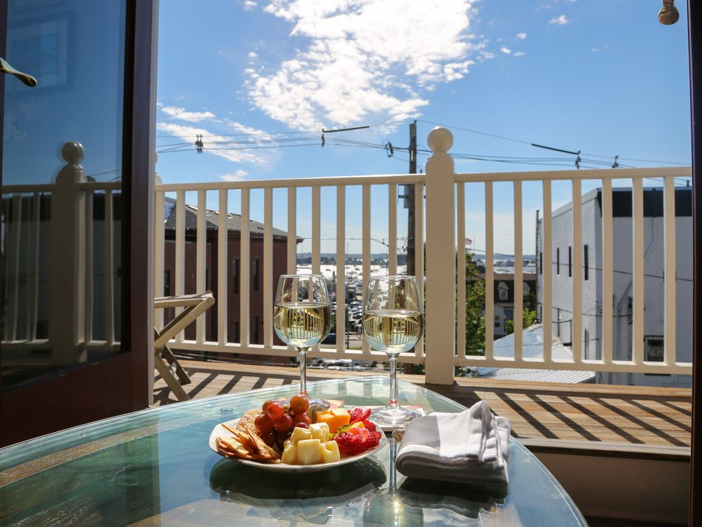 Brand New Water View Penthouse Suite in Historic Downtown Newport