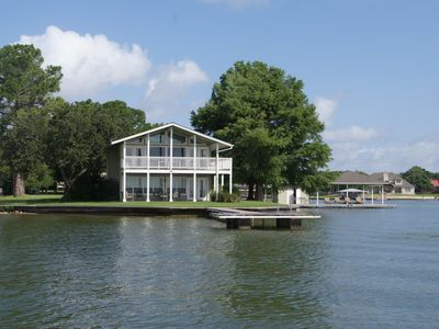 Photo for Beautiful Waterfront Home - Spectacular Open Water Views - Boat Slip