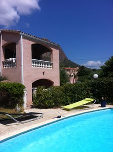 Photo for CORSE BEAUTIFUL VILLA WITH SWIMMING POOL 15MN FROM THE SEA BY CAR