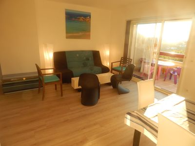 Photo for BIDART / Biarritz Superb T3 West Terrace Seaview