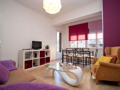 Photo for 4BR Apartment Vacation Rental in Barcelona, Catalunya