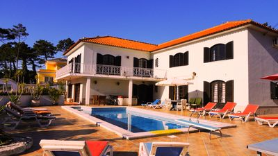 Photo for Holiday house, heated pool, near the beach, Colares, Sintra, Lisbon