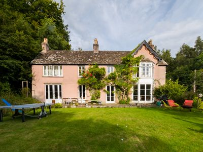Photo for Brecon Beacons Country Home, sleeps 15+ family/pet friendly, perfect for walking