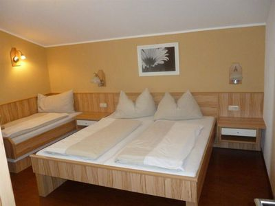 Photo for Hotel apartment (3-5) with separate bedrooms - Theresa, *** Hotel- Pension