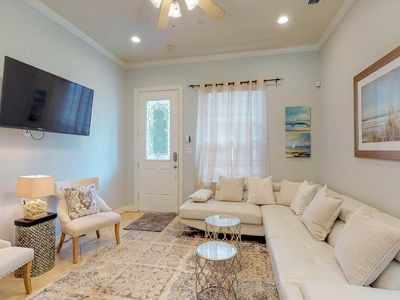 Oceanview, well-appointed home w/shared pool, & beach access!