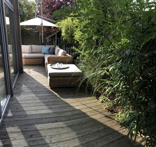 Photo for Modern holiday home with 95sqm in the middle of Schönberg