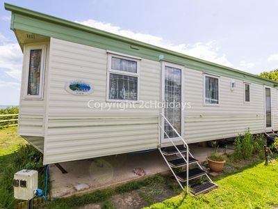 Photo for 6 berth caravan for hire with a full sea view in Suffolk ref 32031