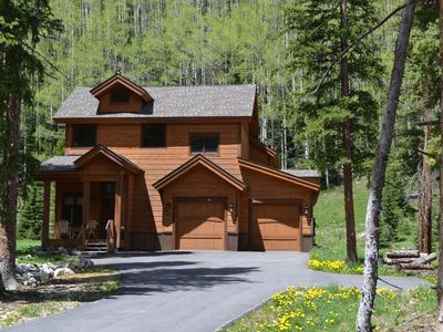 Photo for Private Modern Mountain Cabin - 2 Acres in Blue River - Minutes to Breck Gondola